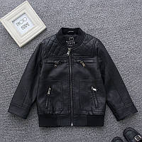 Весенняя куртка, материал эко-кожа  Акция! Последний размер:  140см