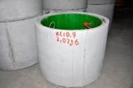 Колодезные кольца c ПЭ вкладышем КС10.9 ПН-П-ЕС, фото 1