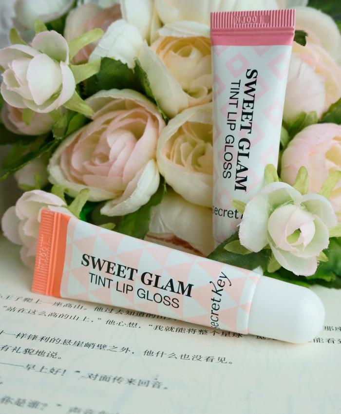 Увлажняющий тинт для губ 10 мл  Secret Key Coral Peach