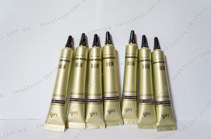 Ночная сыворотка для волос с кератином и протеинами  20 мл LaDor sleeping clinic ampoule