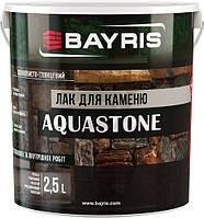 Лак для камня Aquastone Bayris шелковистый глянец 2,5 л