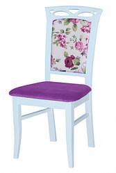 Стул деревянный Вена белый Fusion Furniture