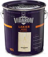 Нитролак для древесины Lakier Nitro Vidaron глянец 10 л