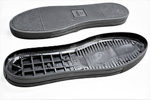 Подошва для обуви мужская 5615 чорна р. 40-45 чер., фото 2