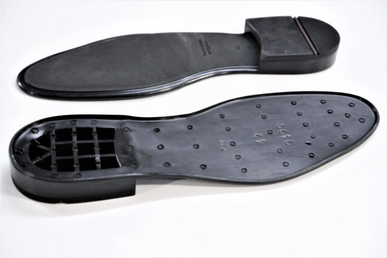 Подошва для обуви мужская 5616  р. 40-45 чер.