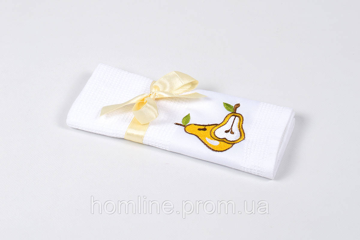 Полотенце кухонное Lotus Life Pear белый 40*60