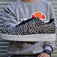 "Кроссовки мужские Nike Air Force 1 Just Do It ""Premium"". ТОП КАЧЕСТВО!!! Реплика класса люкс (ААА+), фото 1"