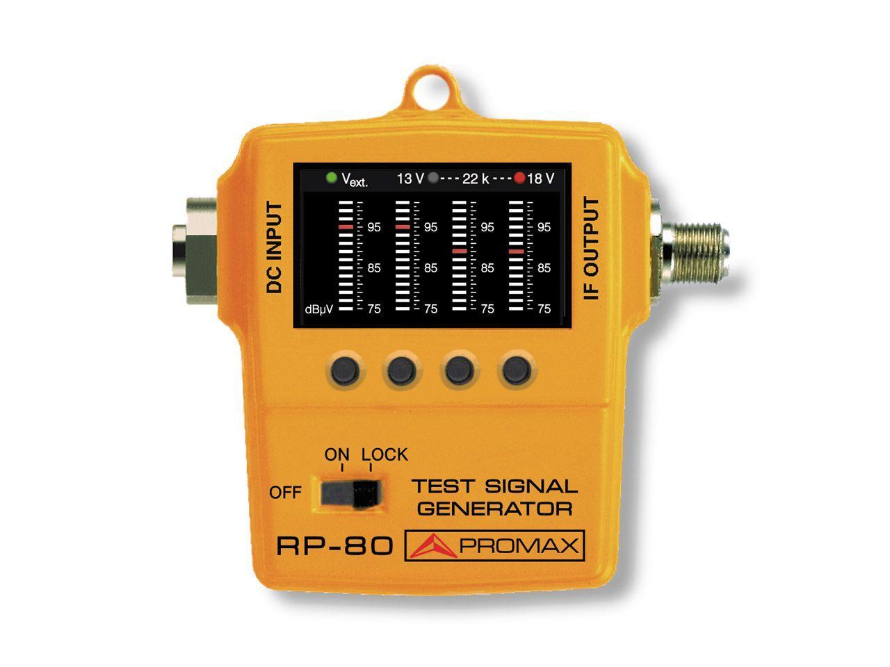 Эмулятор испытательных сигналов Promax RP-080