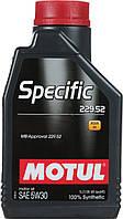Моторное масло Motul (Мотюль) Specific 229.52 MB 5W-30, 1 л.