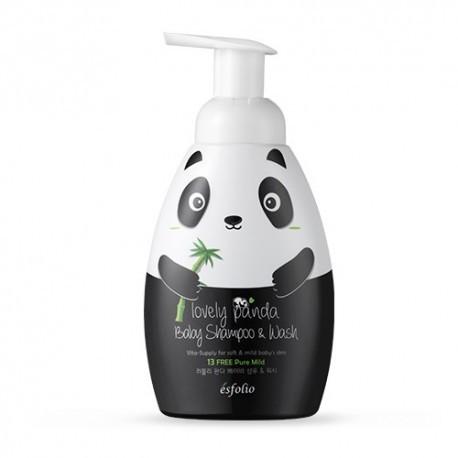 Детский шампунь-гель для душа(безсульфатный) 430 млEsfolio Lovely Panda Baby Shampoo & Wash