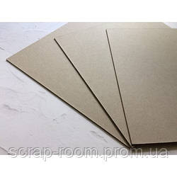 Переплетный картон 20*20 см, картон основа 20*20 см, переплетный картон для альбома 20*20 см, толщина 1,5 мм