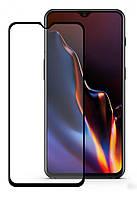 Защитное стекло Full Glue OnePlus 6T Black (Клей по Всей Поверхности)