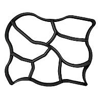 🔝 Форма для садовой дорожки 60x50 см. (Модель C) - дизайн дорожки своими руками, Сад, дача, огород