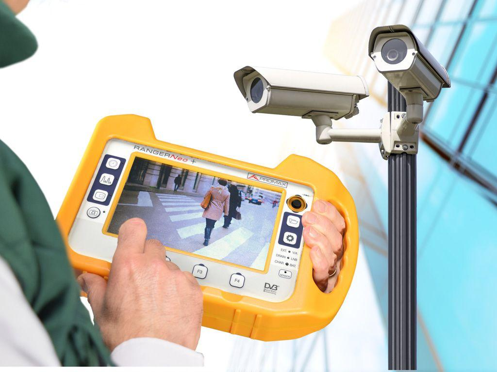Видеоадаптер для подключения камер безопасности к ТВ-анализаторам Promax CV-150