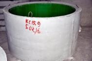 Колодезные кольца c ПЭ вкладышем КС15.9ПН-П