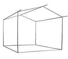 КАРКАС из трубы 3*3 м для торговой палатки