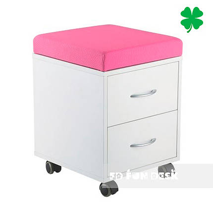 Детская тумбочка FunDesk SS15W Pink, фото 2