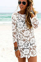 Женская легкая платье туника S-M