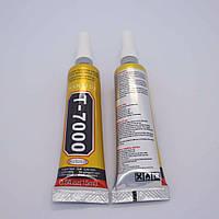 Клей силиконовый для стекла и сенсоров T7000 50 мл (черного цвета)