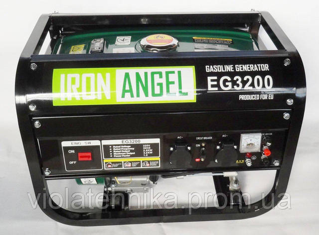 Генератор Iron Angel EG 3200 E-1, фото 2