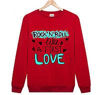 Джемпер ROCK 'N' ROLL LOVE мужской красный