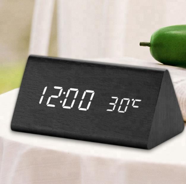 Электронные часы VST-861 Черные - Белая подсветка   ОРИГИНАЛ
