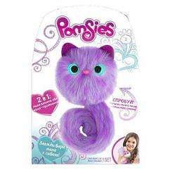П, Игровой набор с интерактивной кошечкой Pomsies Speckles  Оригинал