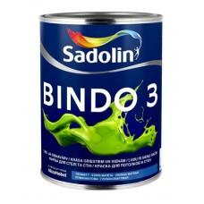 Глубокоматовая краска для стен и потолка Sadolin Bindo 3 1 л