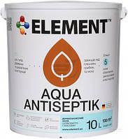 Лазурь-антисептик Aqua Element кипарис 10 л