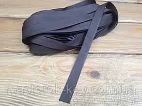 Тесьма брючная 18мм цвет Темно-коричневый