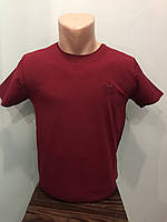 Мужская футболка однотонная XL,2XL