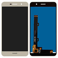 Дисплей (экран) для Huawei Y6 Pro (TIT-U02/TIT-AL00)/Enjoy 5/Honor Play 5X) + тачскрин, цвет золотой
