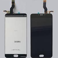 Дисплей (экран) для Meizu M3 Note версия L681 + тачскрин, цвет черный