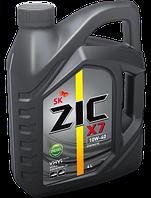 Моторное масло ZIC (Зик) X7 10W-40 Diesel 4л