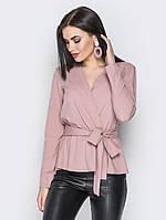 Стильная блуза с баской, в расцветках , фото 1
