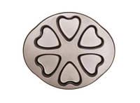 Форма для выпечки Сердечки антипригарное покрытие