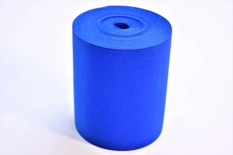 Резинки на голенище эластичные 10 см. цвет синий (Италия), фото 2