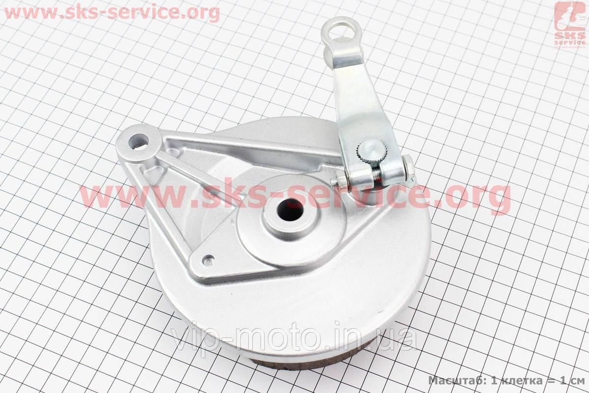Панель тормозная задняя+колодки+торм. механизм