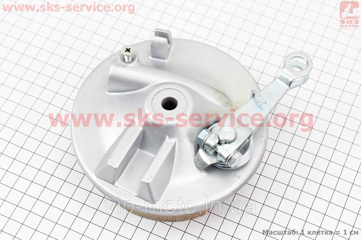 Панель тормозная передняя+колодки+торм. механизм (под ось 10мм)
