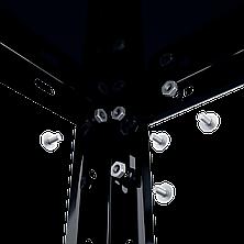 Стеллаж РЕК-3 (1500х750х300), на болтовом соединении, крашеный черный, 4 полки (металл), 35 кг/полка, фото 2