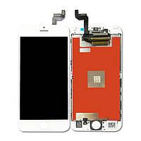 Дисплей (экран) для iPhone 6S (4.7) айфон + тачскрин, цвет белый, оригинал
