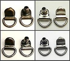 Петля обувная итальянская на ножке (1000 штук )