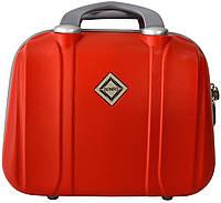 Кейс дорожный Bonro Smile средний красный (10091411)