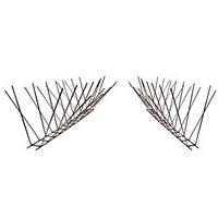 Защитите от помёта птиц свой подоконник, карниз, выступ, противоприсадная конструкция, 33*12см, нержавейка