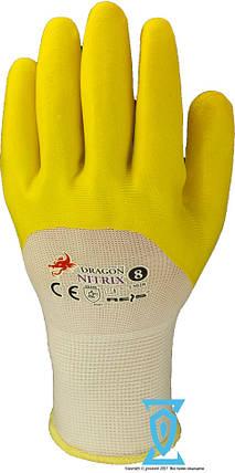 """Перчатки рабочие стрейчевая покрытая нитрилом """"NITRIX"""" (Reis), фото 2"""