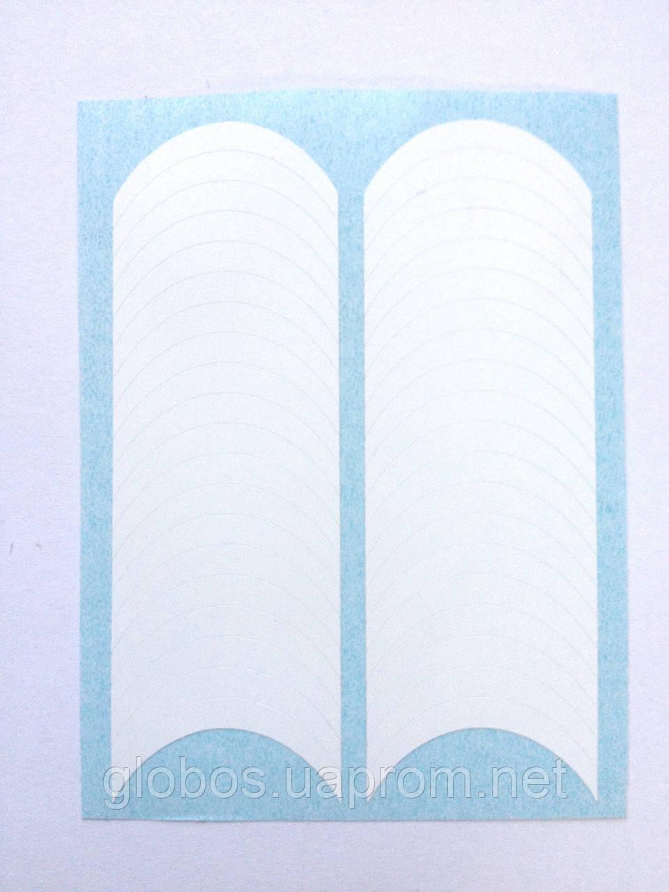 "Трафарет для французского маникюра   ""GLOBOS"" MTG 2"