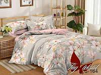 Комплект постельного белья с компаньоном S164 семейный (TAG satin (sem)-164)