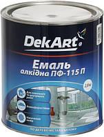 Эмаль алкидная ПФ-115 DekArt светло-серый глянец 2,8кг