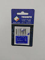 Иглы для бытовых швейных машин 130/705H Джинс №90 TRIUMPH (уп.5шт)