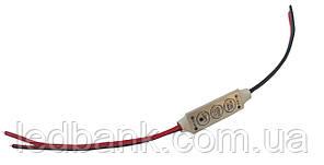 Led диммер 12V DR-6A 3 кнопки
